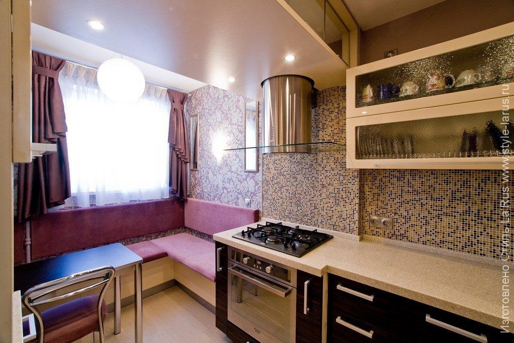 Интерьер для малой кухни